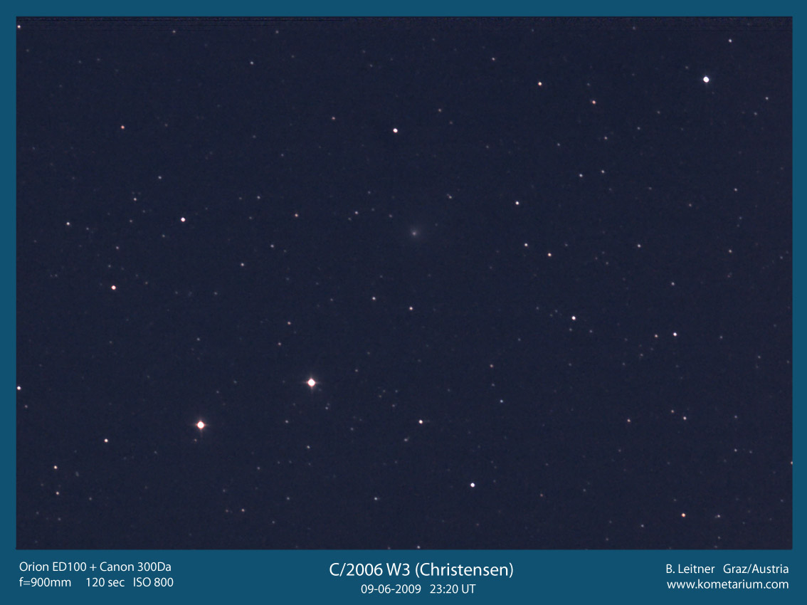 C/2006 W3 (Christensen) mit Orion ED100