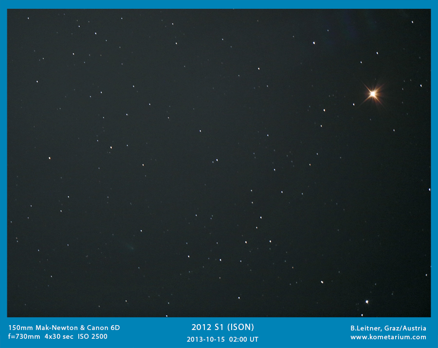 C/2012 S1 (ISON) with Mak-Newton 730mm